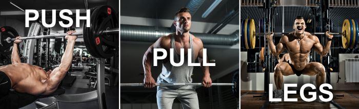Программа тренировки на гипертрофию Push Pull Legs