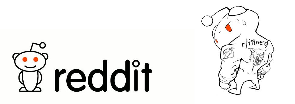 Логотип reddit'а до и после P.P.L.