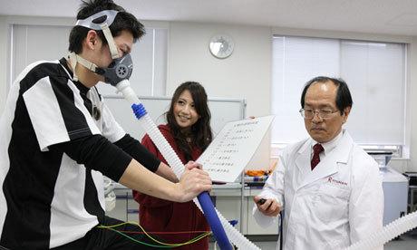 Доктор Табата недоволен VO2max своего подопытного испытуемого