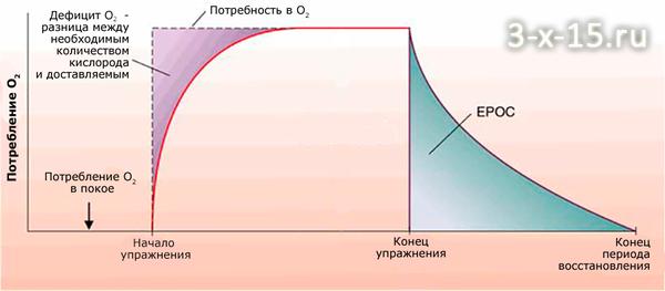Повышенное потребление кислорода после тренировки