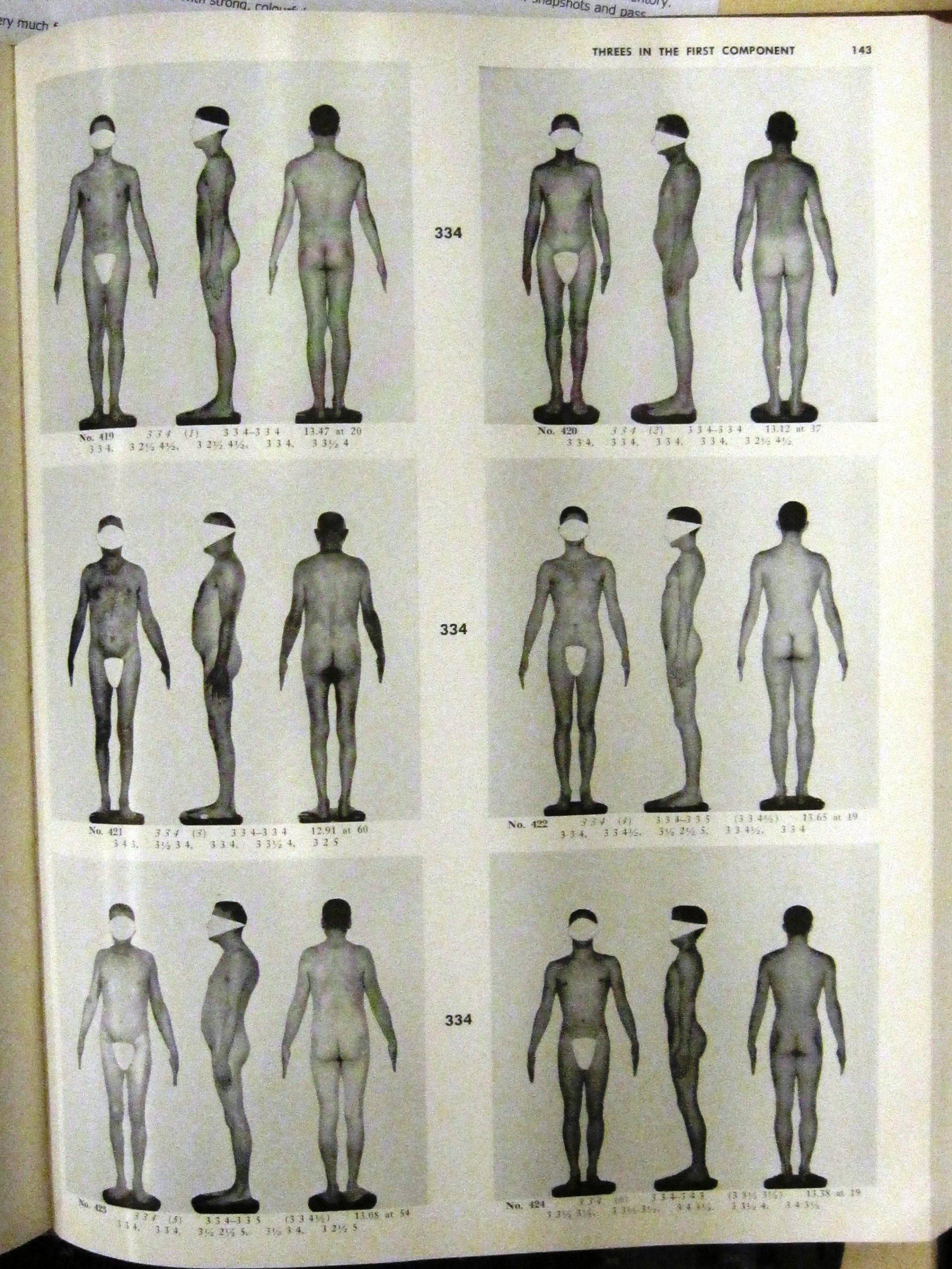 Книга У. Г. Шелдона «Атлас мужчин»