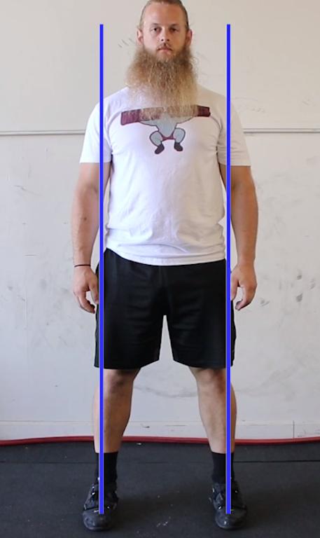 Ширина расстановки ног